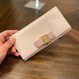 Salvatore Ferragamo leather wallet purse
